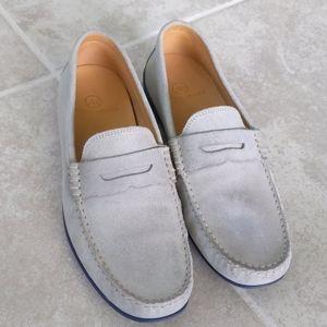 Austen Heller Slip On Leather Moc Penny Loaf 10.5
